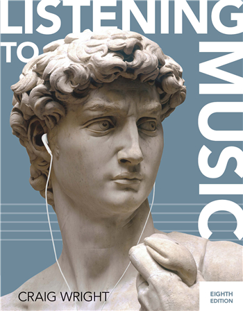 Listening to Music 8th Edition eTextbook by Craig Wright