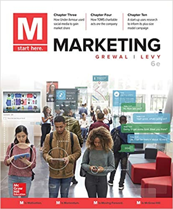 M: Marketing, 6th Edition eTextbook by Grewal, Levy