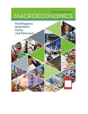 Macroeconomics: Canadian Edition 3rd Edition