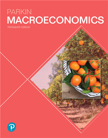 Macroeconomics, 13th Edition eTextbook by Michael Parkin