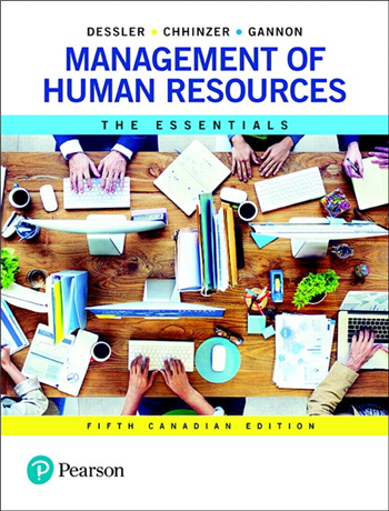 Management of Human Resources: The Essentials, 5th Canadian Edition