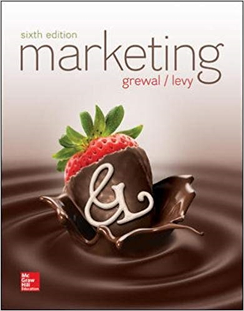 Marketing 6th edition eTextbook by Michael Levy, Dhruv Grewal