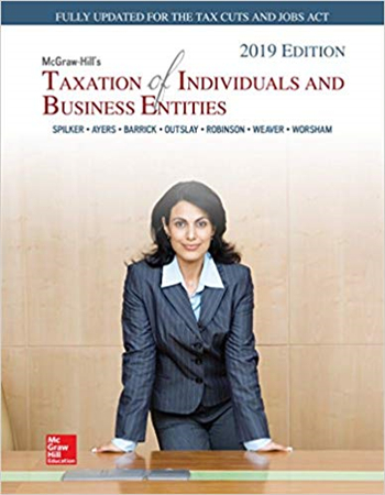 McGraw-Hill's Taxation of Individuals and Business Entities 2019 10th Edition