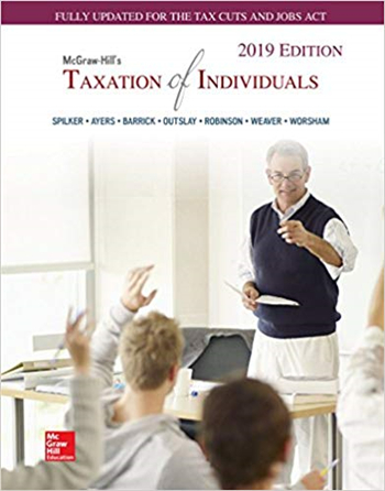 McGraw-Hill's Taxation of Individuals 2019 10th Edition