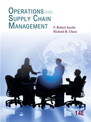 Operations and Supply Chain Management 14th Edition by Jacobs, Chase