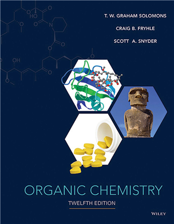 Organic Chemistry, 12th Edition eTextbook by Solomons, Fryhle, Snyder