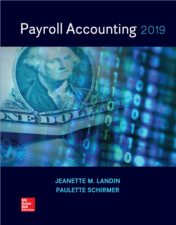 Payroll Accounting 2019 5th Edition by Jeanette Landin, Paulette Schirmer