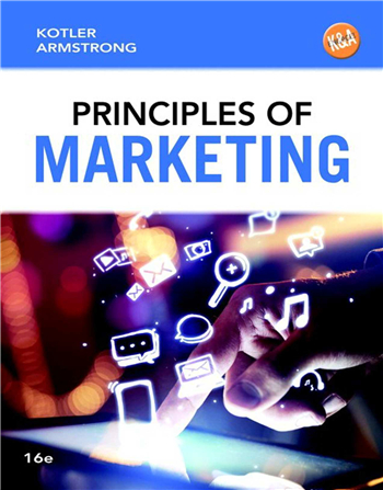 Principles of Marketing, 16th Edition by Philip T. Kotler, Gary Armstrong