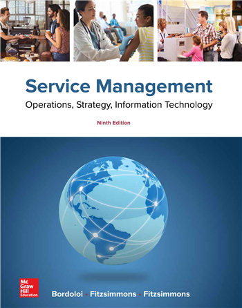 Service Management: Operations, Strategy, Information Technology 9th Edition