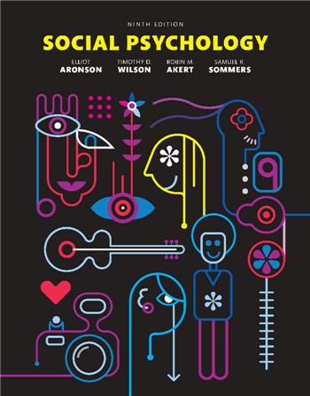 Social Psychology, 9th Edition