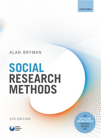 Social Research Methods 5th Edition by Alan Bryman