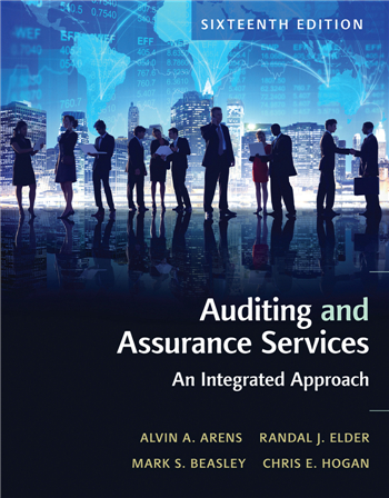 Auditing and Assurance Services, 16th edition