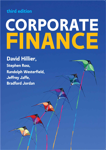 Corporate Finance: European Edition, 3rd Edition by David Hillier
