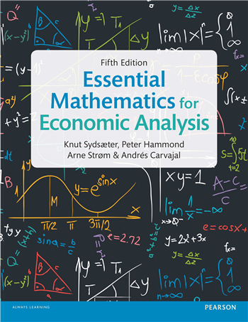 Essential Mathematics for Economic Analysis 5th Edition