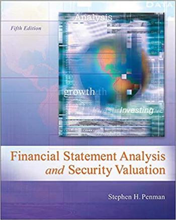 Financial Statement Analysis and Security Valuation, 5th Edition