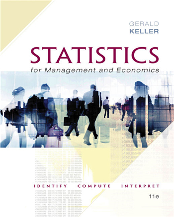 Statistics for Management and Economics + XLSTAT Bind-in, 11th Edition