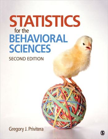 Statistics for the Behavioral Sciences 2nd edition by Gregory J. Privitera