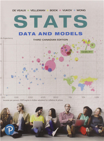 Stats: Data and Models, 3rd Canadian Edition