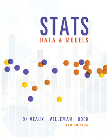 Stats: Data and Models, 4th Edition eTextbook by De Veaux, Velleman, Bock