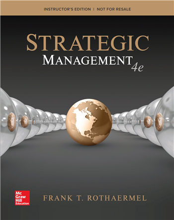 Strategic Management: Concepts 4th Edition by Frank Rothaermel