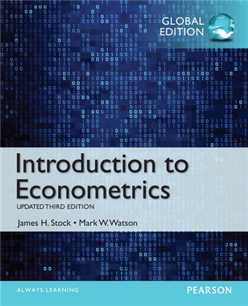 Introduction to Econometrics, Update, Global Edition, 3rd Edition