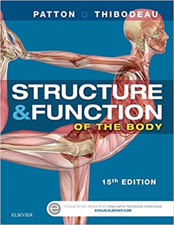 Structure & Function of the Body - Softcover, 15th Edition