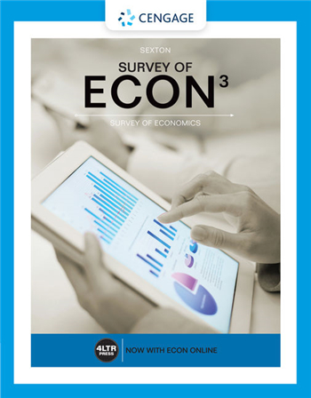 Survey of ECON 3rd Edition eTextbook by Robert L. Sexton