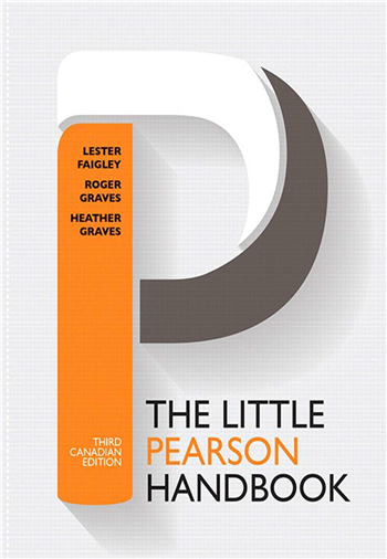 The Little Pearson Handbook, Third Canadian Edition, 3/e