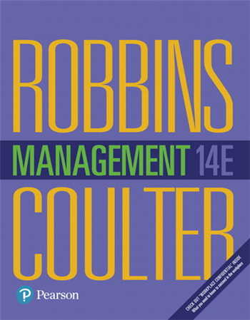Management, 14th edition by Stephen P. Robbins, Mary A. Coulter