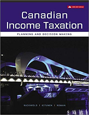 Canadian Income Taxation, 2020/2021 23rd Edition