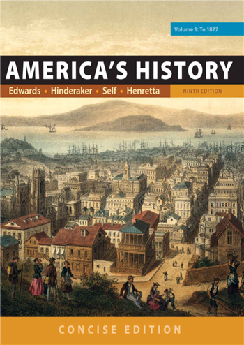 America's History: Concise Edition, Volume 1 9th Edition