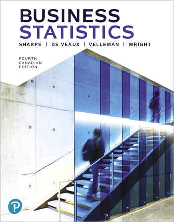 Business Statistics, 4th Canadian Edition