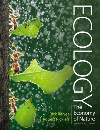 Ecology: The Economy of Nature 8th Edition eTextbook by Rick Relyea, Robert Ricklefs