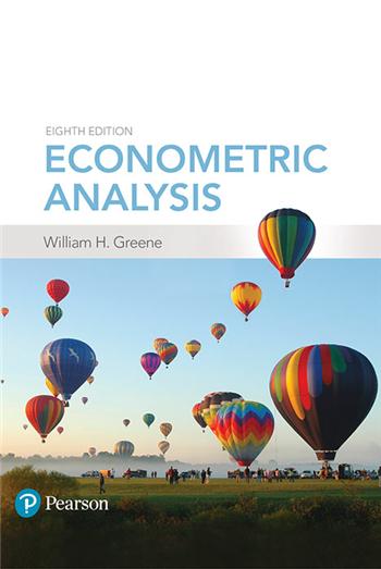 Econometric Analysis, 8th Edition eTextbook by William H. Greene