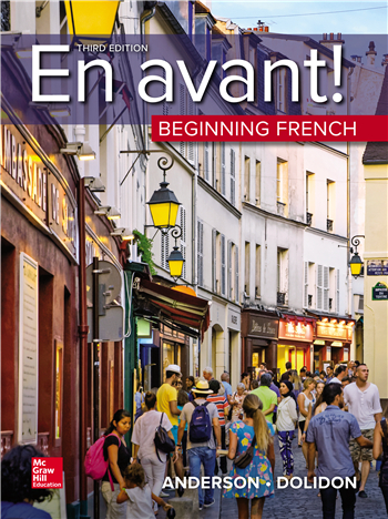 En avant! Beginning French 3rd Edition eTextbook by Bruce Anderson, Annabelle Dolidon