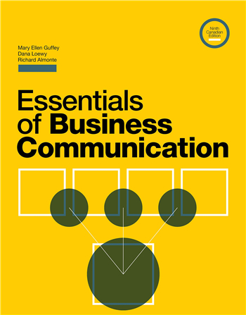Essentials of Business Communication, 9th Canadian Edition