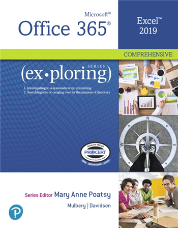 Exploring Microsoft Office Excel 2019 Comprehensive, 1st edition
