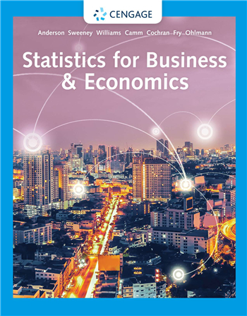 Statistics for Business & Economics 14th Edition