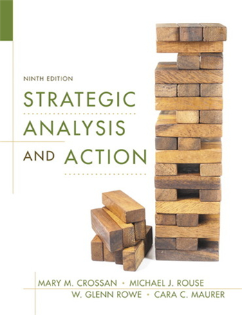Strategic Analysis and Action, 9th edition
