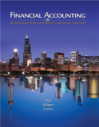Financial Accounting: An Introduction to Concepts, Methods and Uses, 14th Edition
