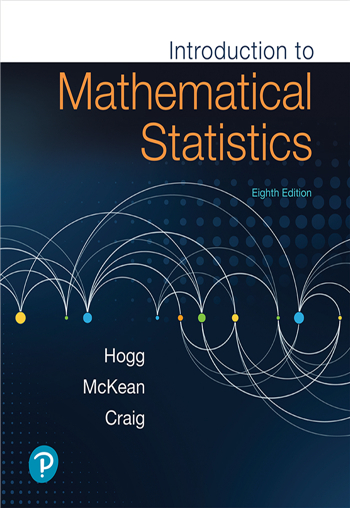 Introduction to Mathematical Statistics, 8th edition