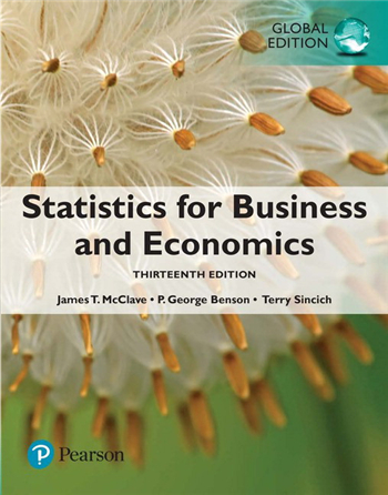 Statistics for Business and Economics: Global Edition, 13th Edition