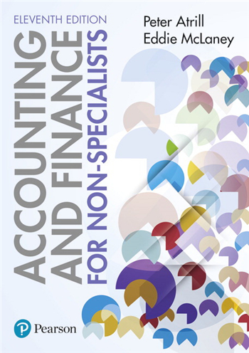 Accounting and Finance for Non-Specialists 11th Edition by Peter Atrill, Eddie McLaney