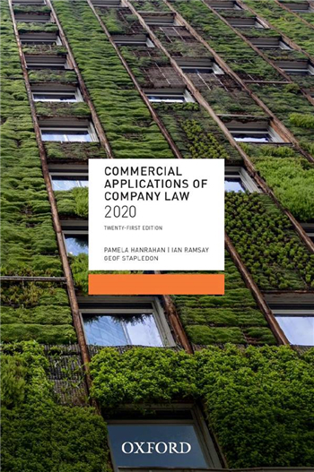 Commercial Applications of Company Law 2020, 21st Edition