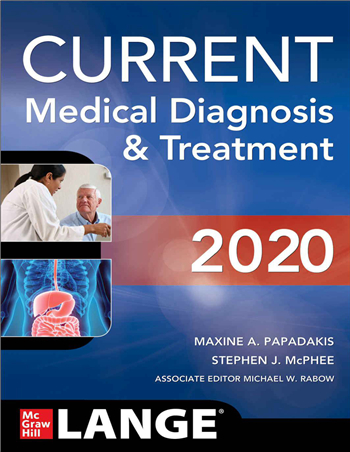 CURRENT Medical Diagnosis and Treatment 2020 59th Edition