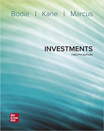 Investments 12th Edition eTextbook by Bodie, Kane, Marcus
