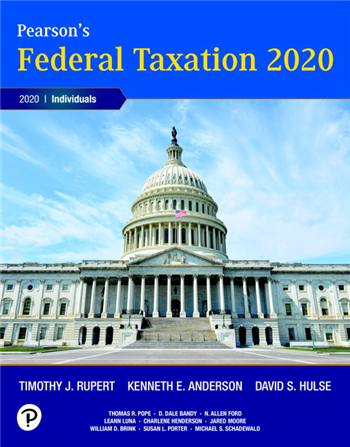 Pearson's Federal Taxation 2020 Individuals 33rd Edition
