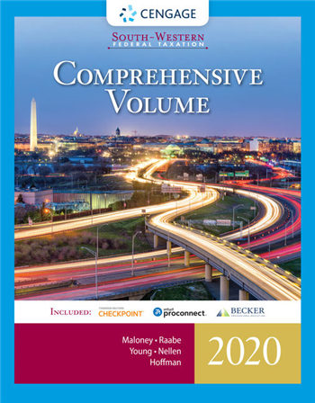 South-Western Federal Taxation 2020: Comprehensive 43rd Edition