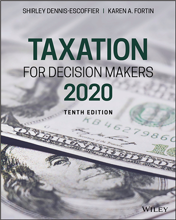 Taxation for Decision Makers, 2020, 10th Edition