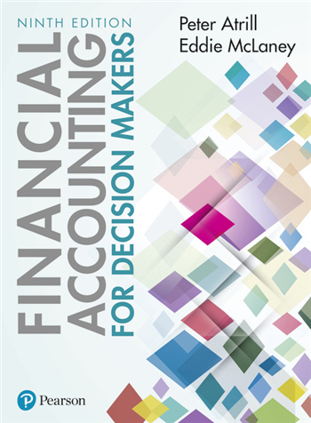 Financial Accounting for Decision Makers 9th Edition by Peter Atrill; Eddie McLaney